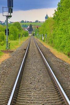 Seemed, Railway, Railway Rails, Track, Railroad Track