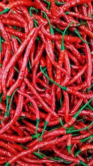 Vegetarian, Chili, Red, Texture