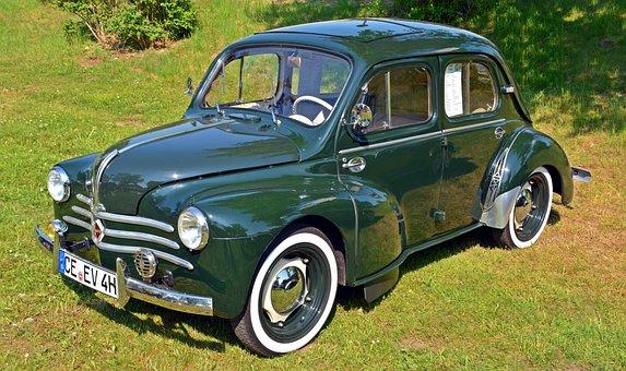 Oldtimer, Renault, Renault 4 Cv Luxe