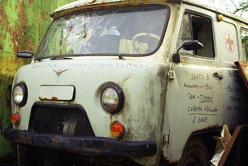 Old Car, Broken Machine, Loaf, Retro Cars, Old Cars