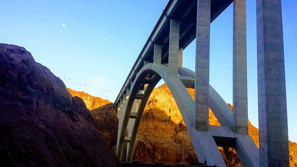 Bridge, Desert, Dam, Mountain, Rock, Stone, Natural