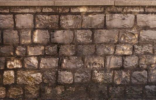 Stone Wall, Quarry Stone, Wall Completion, End Plates