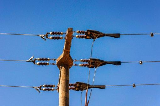 Strommast, Voltage, High Voltage, Electricity, Energy