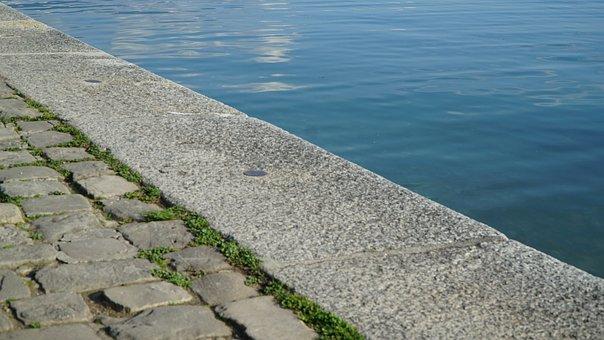 River, Lake, Vevey, Switzerland, Canal, Waters