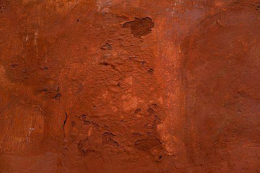 Wall, Red, Orange, Surface, Old, Grunge, Texture, Rough