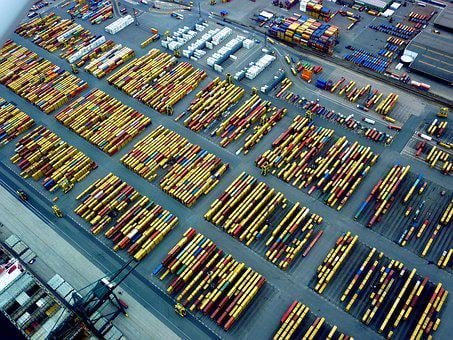 Antwerp, Port, Logistics, Transport, Load, Taps