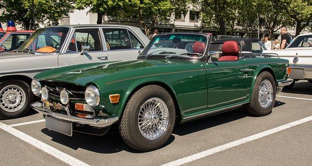 Triumph, Oldtimer, Vehicle, Classic, Automotive