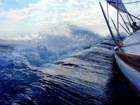 Sailing, Boat, Water, Boats, Holiday