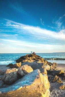 The Atlantic Ocean, Water, Ocean, Sea, Turquoise, Sand