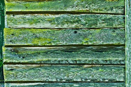 Boards, Weave, Verdigris, Panel, Wood, Wooden Wall