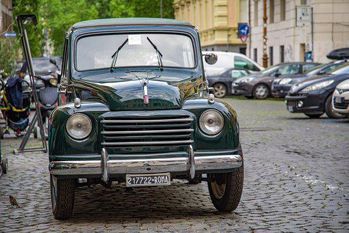Car, Auto, Automobile, Fiat, Vehicle, Ancient, Vintage