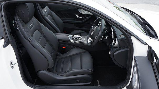 Car, Interior, Auto, Vehicle, Automobile, Leather