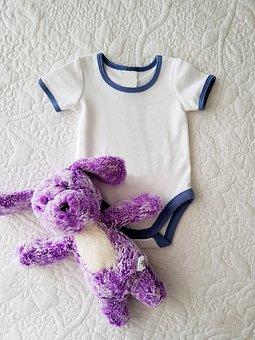 Onesie, White, Baby, Baby Clothes
