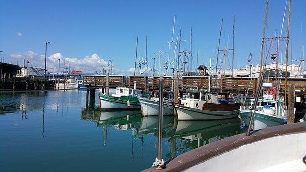 Boat, Bay, Ocean, Sail, Boating, Fishing, Sailing