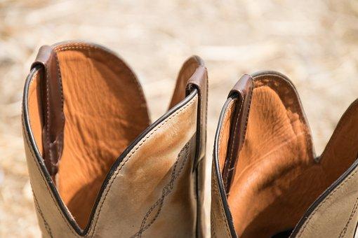 Boots, Western, Ride, Verziehrung, Shoes