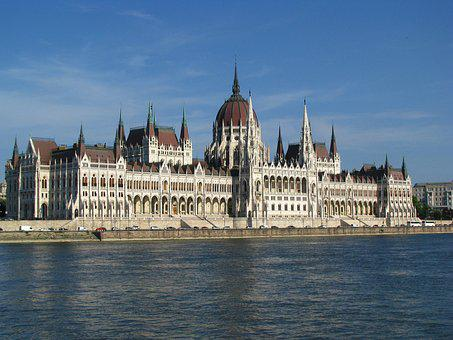 Budapest, Parliament, Danube, River, Hungary, City