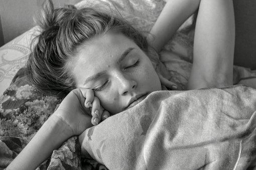 Girl, Beautiful, Wakes Up, Dream, Sunrise, Calm, Photo