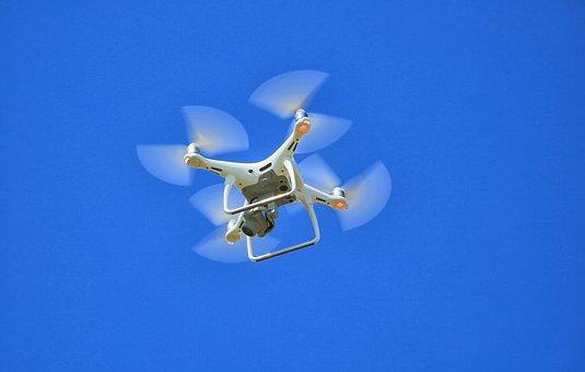 Drone, Air, Phantom, Camera, Quadricopter, Aerial Photo
