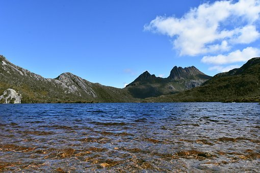 Australia, Tasmania, Cradle Mountain, Lake, Water