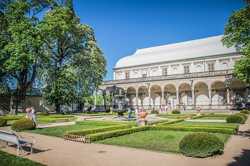 Prague Castle, Garden, Czech Republic, History