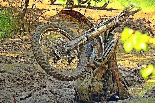 Motocross, Mud, Bike, Dirty, Quagmire, Sport, Muddy
