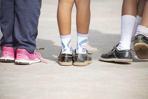 Shoes, Girls, Woman, Female, Young, People, Footwear