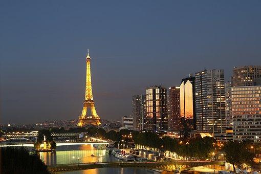 Eiffle Tower, France, Monument, Structure, Landmark