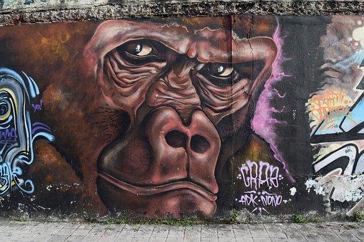 Graffiti, Art, Street, Spray, Urban, Wall, Style, Paint