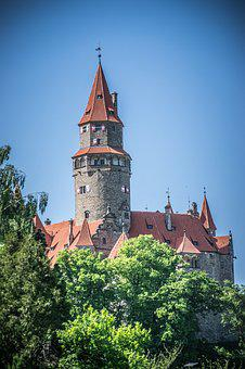 Castle Tower, Historical Landmark, Czech Republic