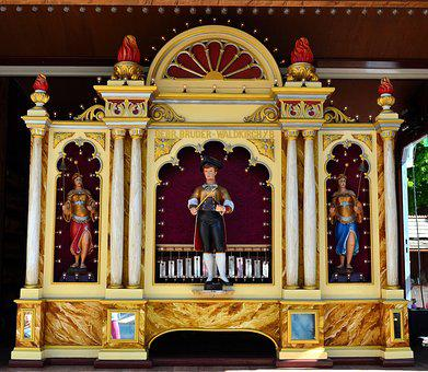 Orchestrion, Organ, Roller Organ, Instrument, Music