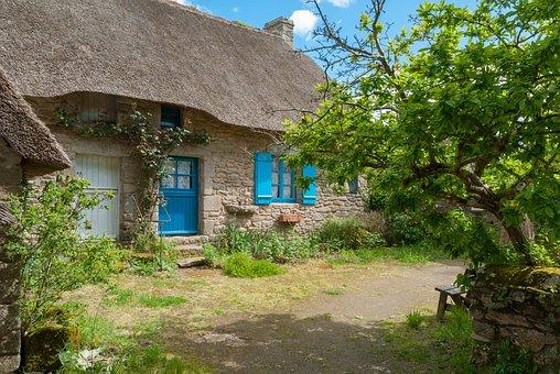 France, Kerhiné, Loire Atlantique, House, Architecture