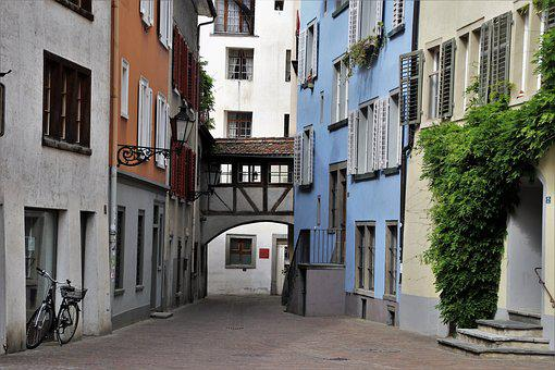 Townhouses, Monuments, Old Town, Old Windows, Façades