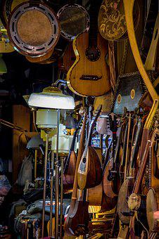 Luthier, Instrument, Music, Shop, Musical, Artisan