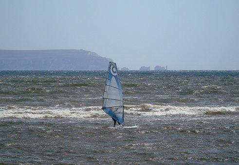 Wind, Surf, Sea, Ocean, Water, Beach, Summer, Surfing