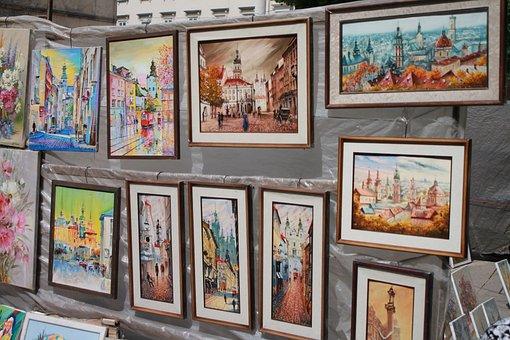Pictures, Artists, Vernissage, Art, Ukraine, Lviv