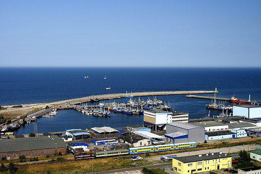 Wladyslawowo, Sea, The Baltic Sea, Poland, Port