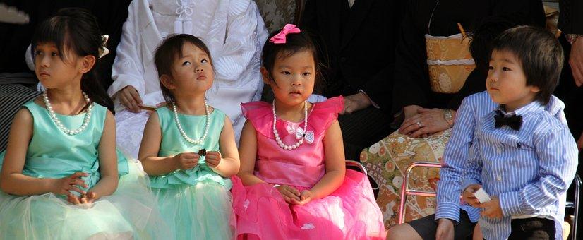 Children, Japanese, Asian, Happy, Infant, Preschool