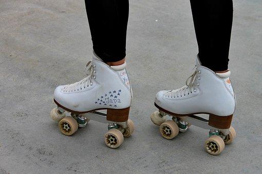 Roller Skates, Skaters, Skating, Training, Sport