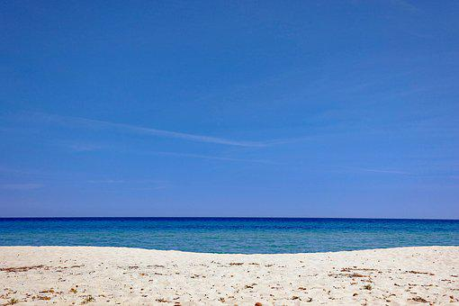 Beach, Sand, Sea, Sky, Mediterranean, Beautiful Beaches