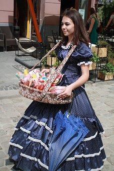 The Seller, Girl, Ukraine, Lviv, The Booth Babe