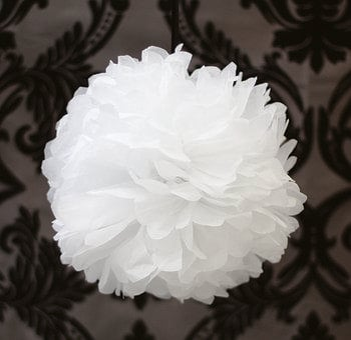 Tissue Paper Pom, Wedding Decorations, Wedding, Pom