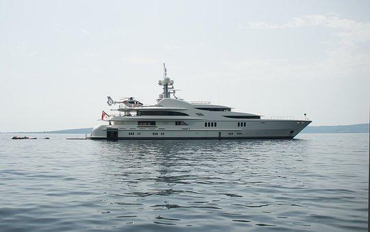 Yacht, Sea, Vacation, Sky, Journey, Summer, Island