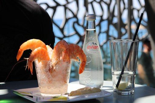 Shrimp, Water