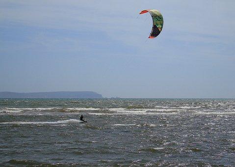 Kite, Surf, Sea, Surfer, Surfing, Water, Summer