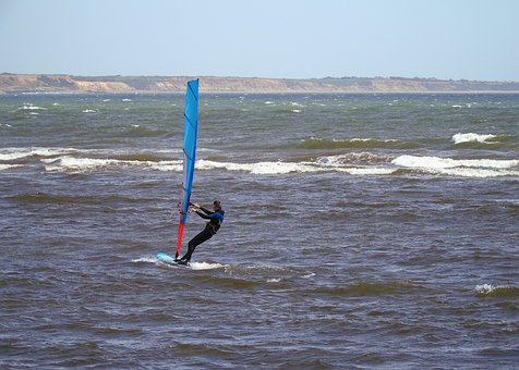 Windsurfer, Windsurfing, Water, Sport, Summer, Sea