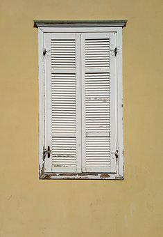Window, Old Window, Background, Wall, Location, Old