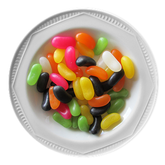 Bowl Of Jelly Beans, Jelly Beans, Bowl, Jelly, Food
