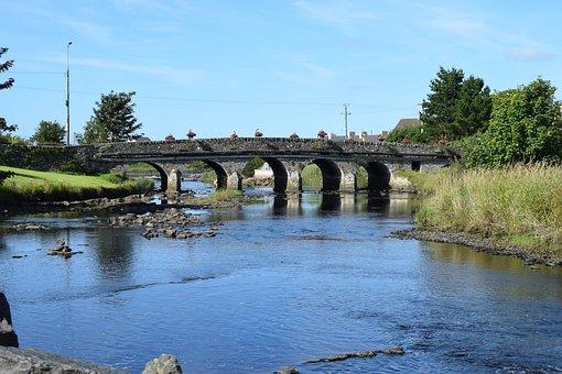 Arch, Bridge, River
