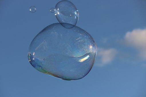 Bubble, Sky, Soap, Lightness, Children's Games