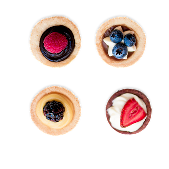Cupcakes, Mini Cheesecake, Strawberry, Dessert, Sweet